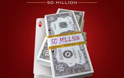 تورنمنت HOLDEM 6-MAX با 50 میلیون جایزه هر روز در سایت ریورپوکر